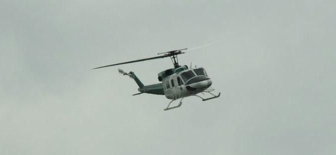ABD-Meksika sınırında helikopter kazası