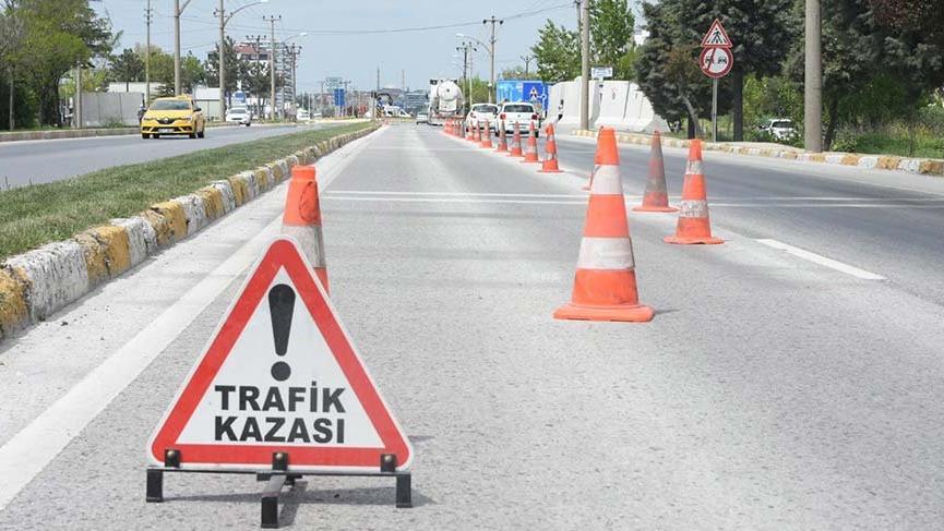 Ankara'da kaza: 6'sı polis, 7 kişi yaralandı!