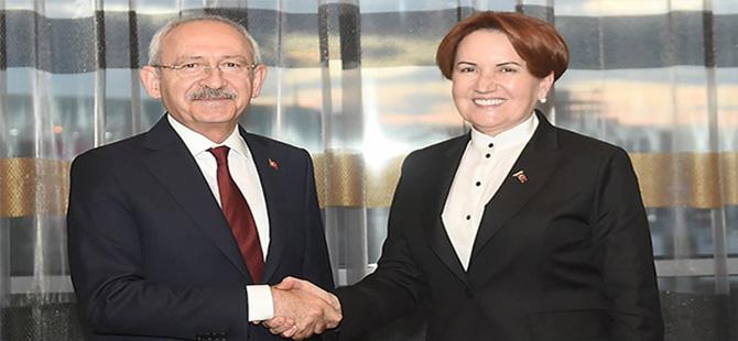 Kılıçdaroğlu ile Akşener bugün saat 15:00'te bir araya geliyor