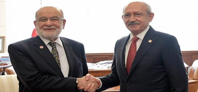 CHP, Saadet Partisi'nden randevu talep edecek!