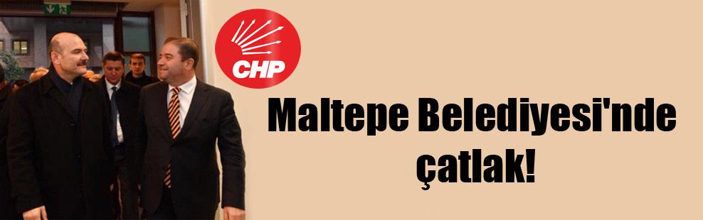 Maltepe Belediyesi'nde çatlak!