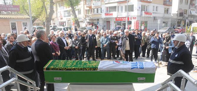 Yalova'da eski başkanlarından CHP'li Mehmet Durmam toprağa verildi
