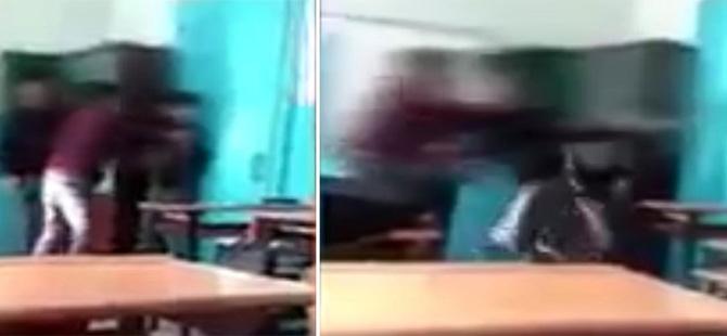 Sınıfta öğrencilerini kavga ettiren öğretmen açığa alındı