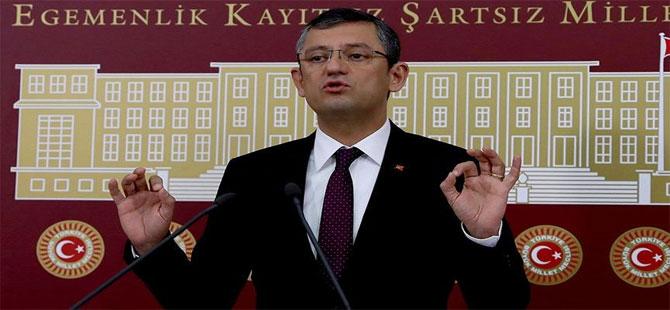 CHP'li Özel: İYİ Parti seçime giremez!