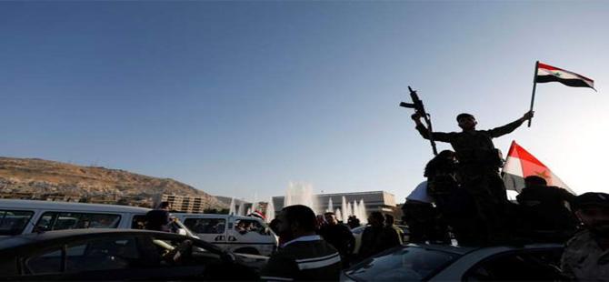 Şam'da protesto gösterileri