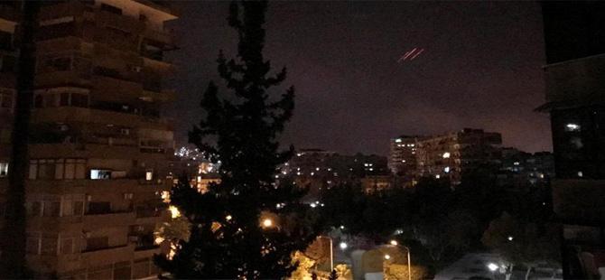Suriye'ye yeni füze saldırısı yapıldığı iddia ediliyor
