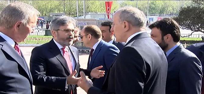 Taksim'de 23 Nisan törenlerinde tartışma