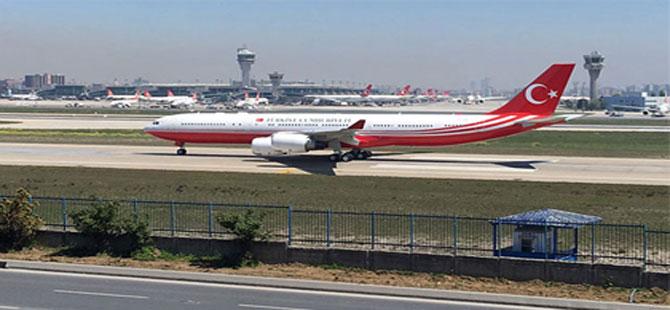 Erdoğan'ın uçağı satıldı