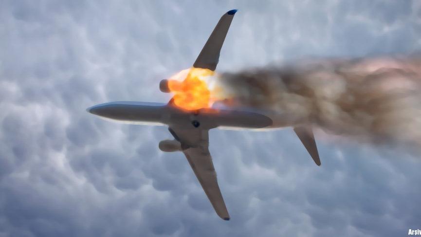 Edremit Körfezi'nde uçak düştü!