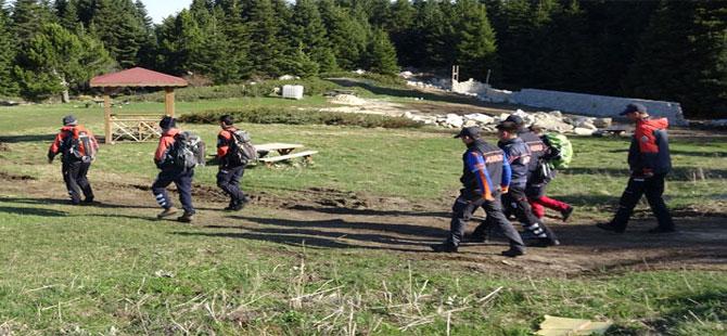 Uludağ'da kaybolan genç 20 saat sonra bulundu