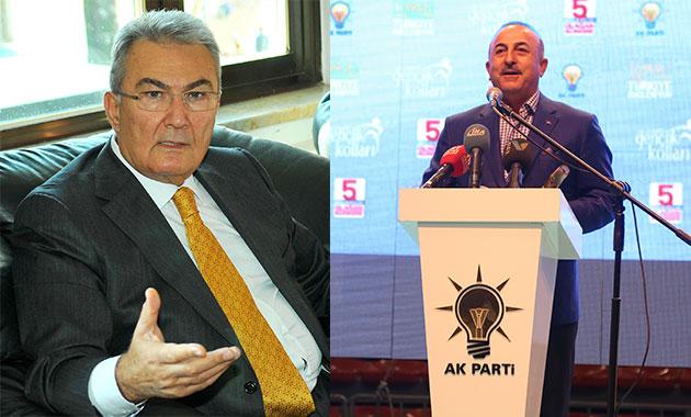 Dışişleri Bakanı Çavuşoğlu ve Baykal memleketinden aday adayı