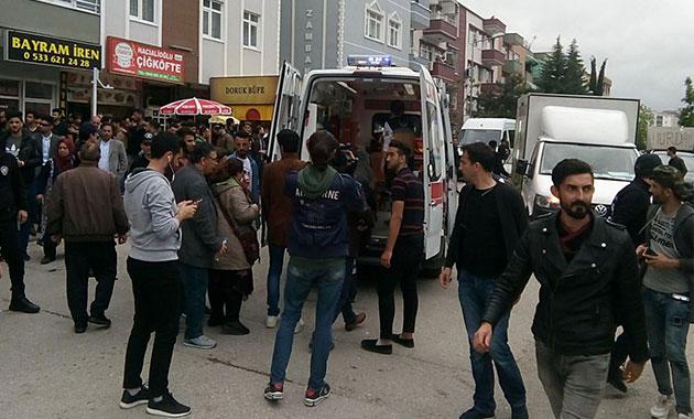Samsun'da oy kullanan Iraklılar kavga etti: 1 yaralı