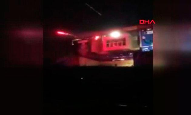 Süleymaniye'de parti binası tarandı