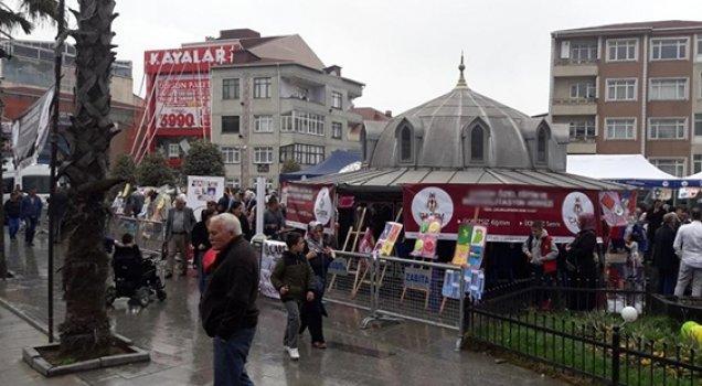 AKP'li belediyeden İYİ Parti'nin standına engel