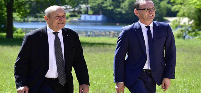 Almanya ve Fransa'dan, İran nükleer anlaşmasına bağlılık sözü