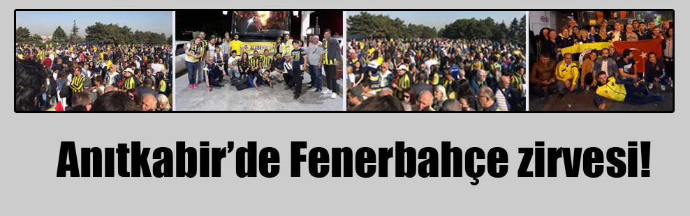 Anıtkabir'de Fenerbahçe zirvesi!