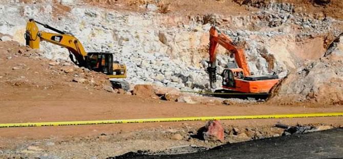 Ankara'da inşaat alanında unutulan dinamit patladı: 1 ölü, 3 yaralı