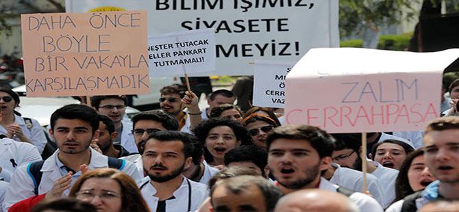 YÖK Başkanı Saraç'a tepki: 600 yıllık İstanbul Üniversitesi deneme tahtası değildir