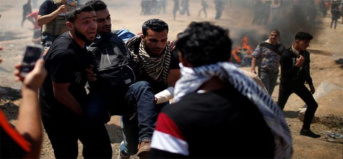 ABD'nin Kudüs Büyükelçiliği açılıyor: Gazze'de 41 ölü, 1800 yaralı