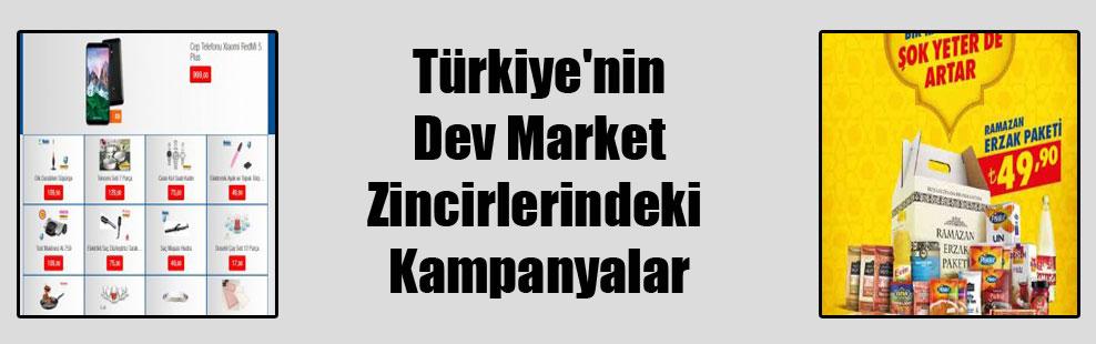 Türkiye'nin Dev Market Zincirlerindeki Kampanyalar