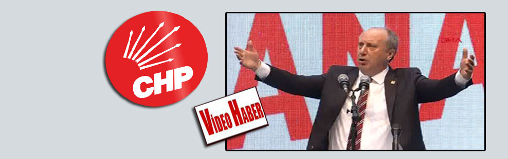 Muharrem İnce CHP rozetini Kılıçdaroğlu'na teslim etti!
