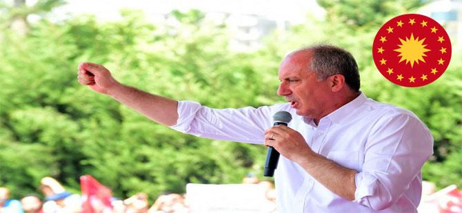 İnce'nin büyük İstanbul mitingi bugün 13:00'de Maltepe'de