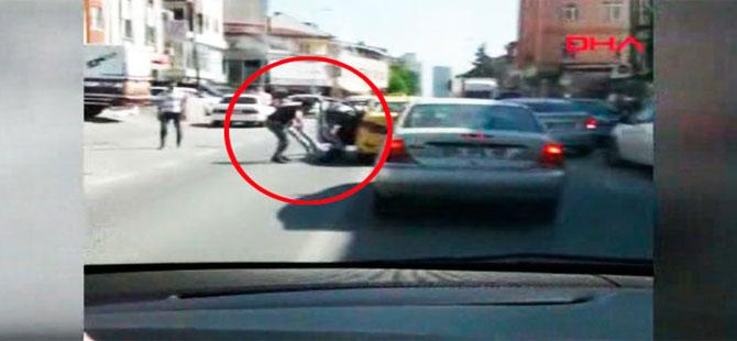 İstanbul'da taksici dehşeti