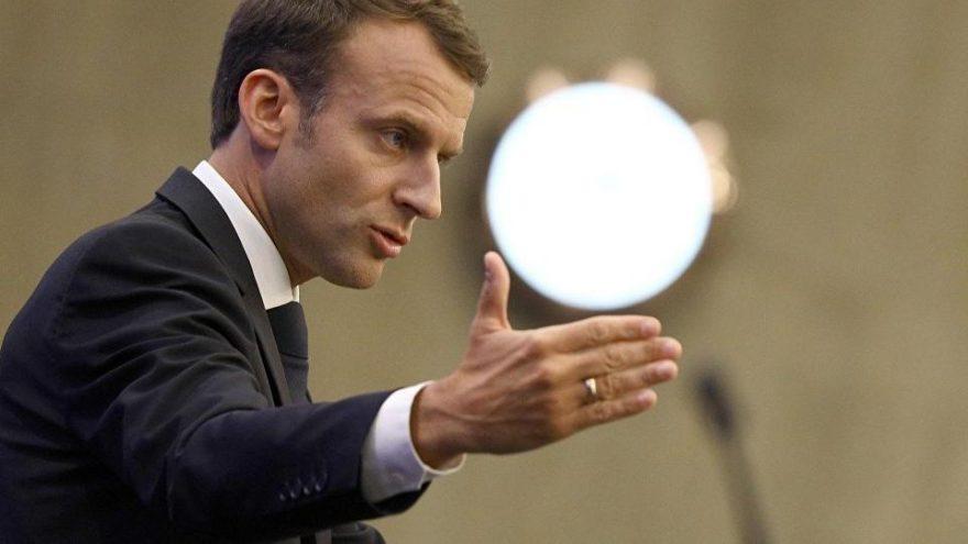 Macron işçileri kızdırdı… Sarayın gazını kestiler