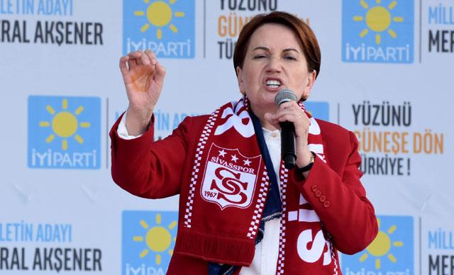 Meral Akşener: Erdoğan'ın beka sorunu var
