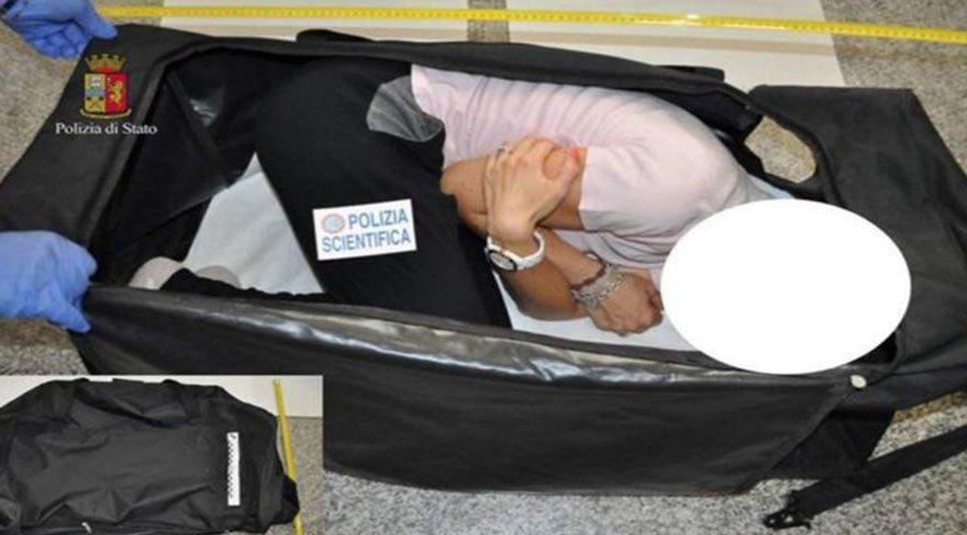 Bavulla manken kaçıran adama 16 yıl hapis cezası