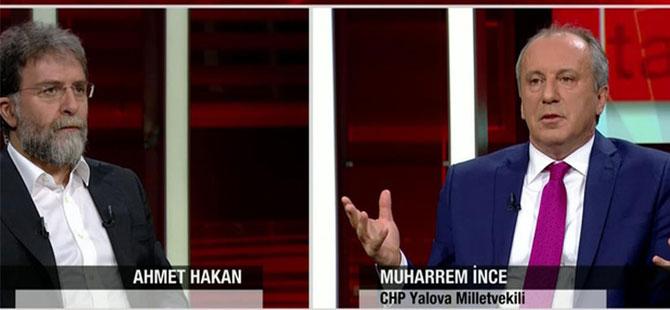 Muharrem İnce'den Ahmet Hakan'a: Gel bizim uçağa