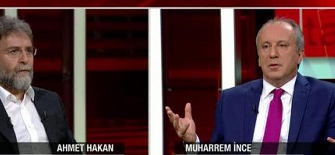 Ahmet Hakan: İnce İstanbul'u kabul ederse; ne olur!