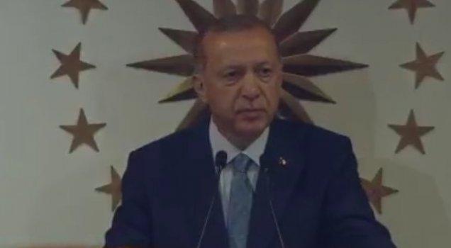 Erdoğan seçim bitmeden balkon konuşması yaptı
