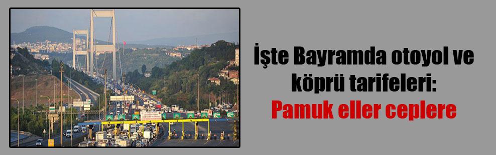 İşte Bayramda otoyol ve köprü tarifeleri: Pamuk eller ceplere