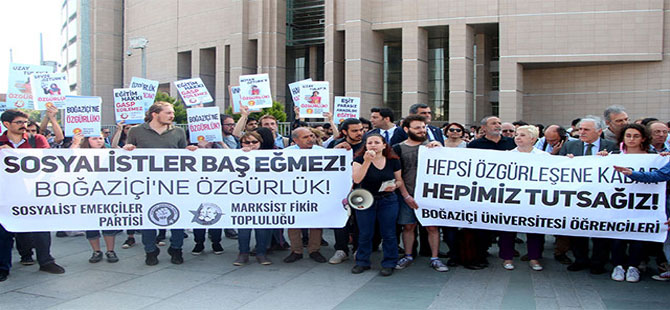 Boğaziçi Üniversitesi öğrencilerinin davası başladı
