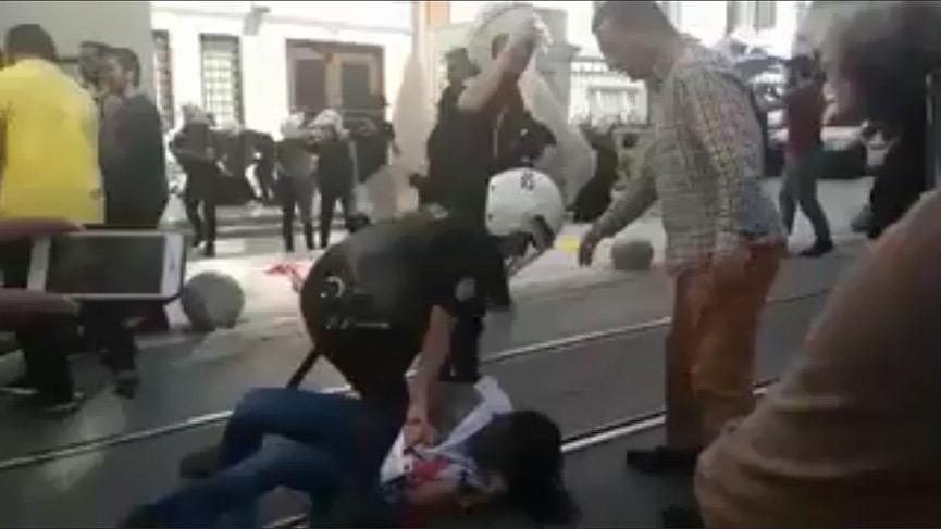 Polis'ten öğrencilere önce gözaltı sonra şiddet