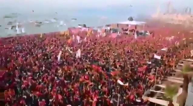 İzmir'de yüzbinler Muharrem İnce'yi bekliyor