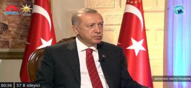 Erdoğan: Türkiye 4,5 milyon mülteciyi ağırlama kapasitesini doldurmuştur