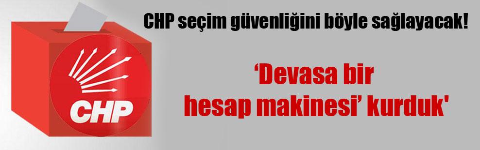 CHP seçim güvenliğini böyle sağlayacak!