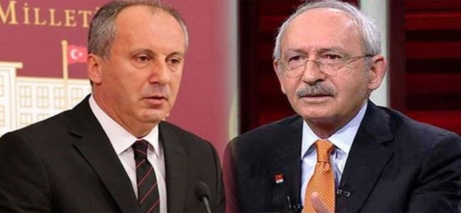 Muharrem İnce'den Kılıçdaroğlu'na geçmiş olsun telefonu