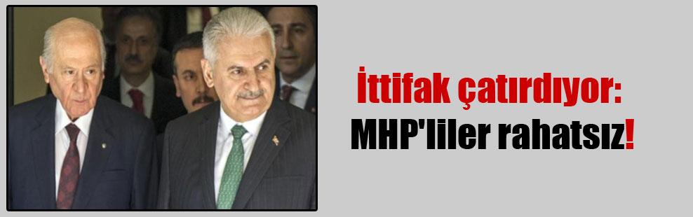 İttifak çatırdıyor: MHP'liler rahatsız!