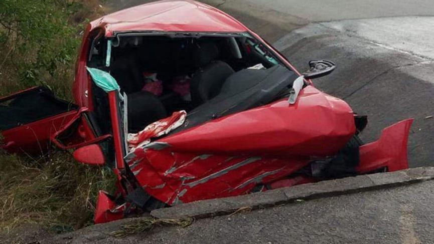 Karadeniz turuna çıkan sağlıkçılar kaza yaptı: 3 ölü, 1 yaralı