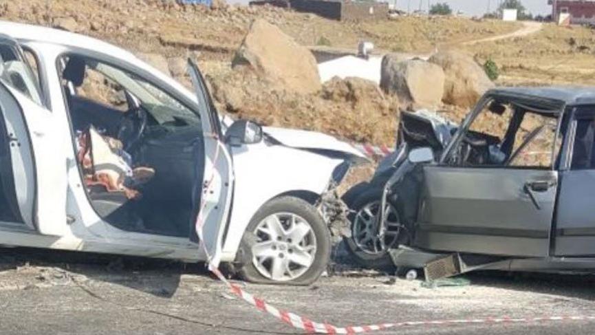 Şanlıurfa'da kaza sonucu 3 kişi öldü 2 kişi yaralandı