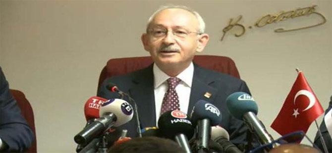 Kılıçdaroğlu: Binali Bey'in istifa etmesine gerek yok!