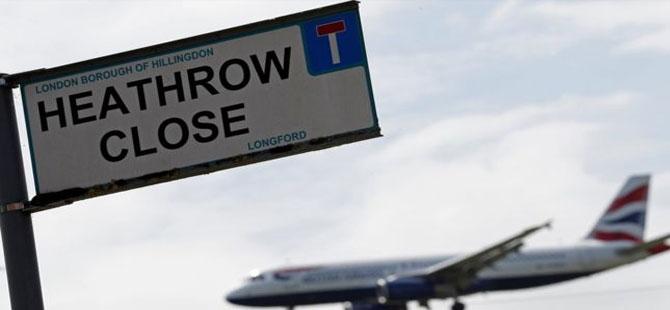 Londra'daki Heathrow Havalimanı'na üçüncü pist inşası için parlamentodan onay