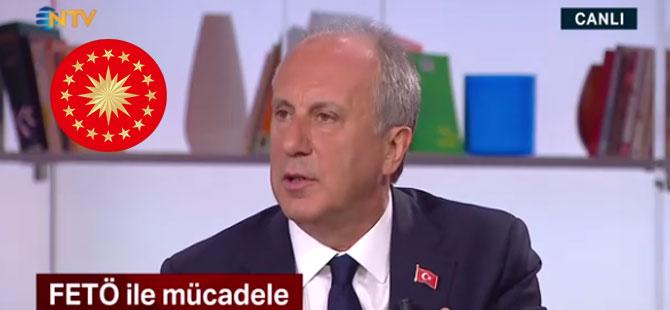 İnce'den Erdoğan'a: Sen kendine daha yaver seçememişsin, ne konuşuyorsun?