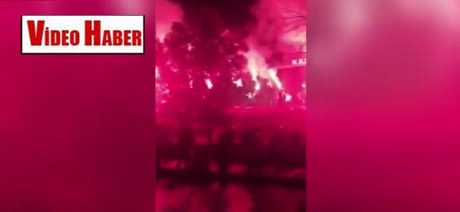 Kanal D ve CNN Türk önünde 'Akşener protestosu'
