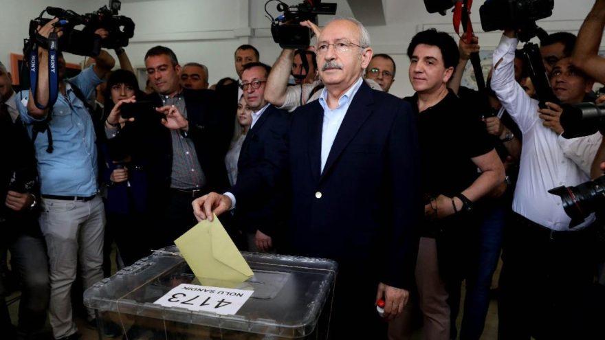 Kılıçdaroğlu'nun oy kullandığı sandığın sonucu belli oldu