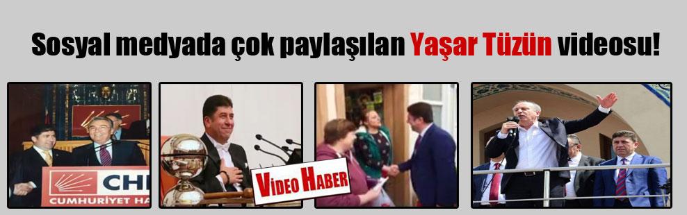 Sosyal medyada çok paylaşılan Yaşar Tüzün videosu!