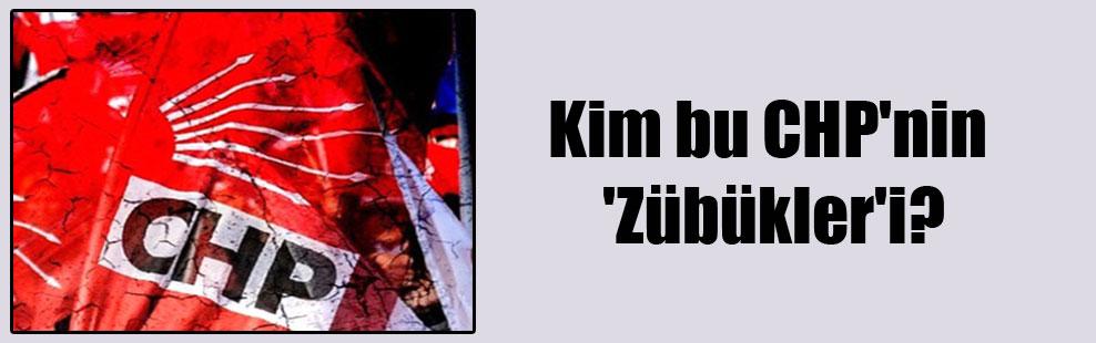 Kim bu CHP'nin 'Zübükler'i?